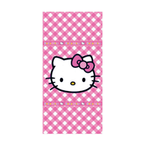 toalla rosa hello kitty